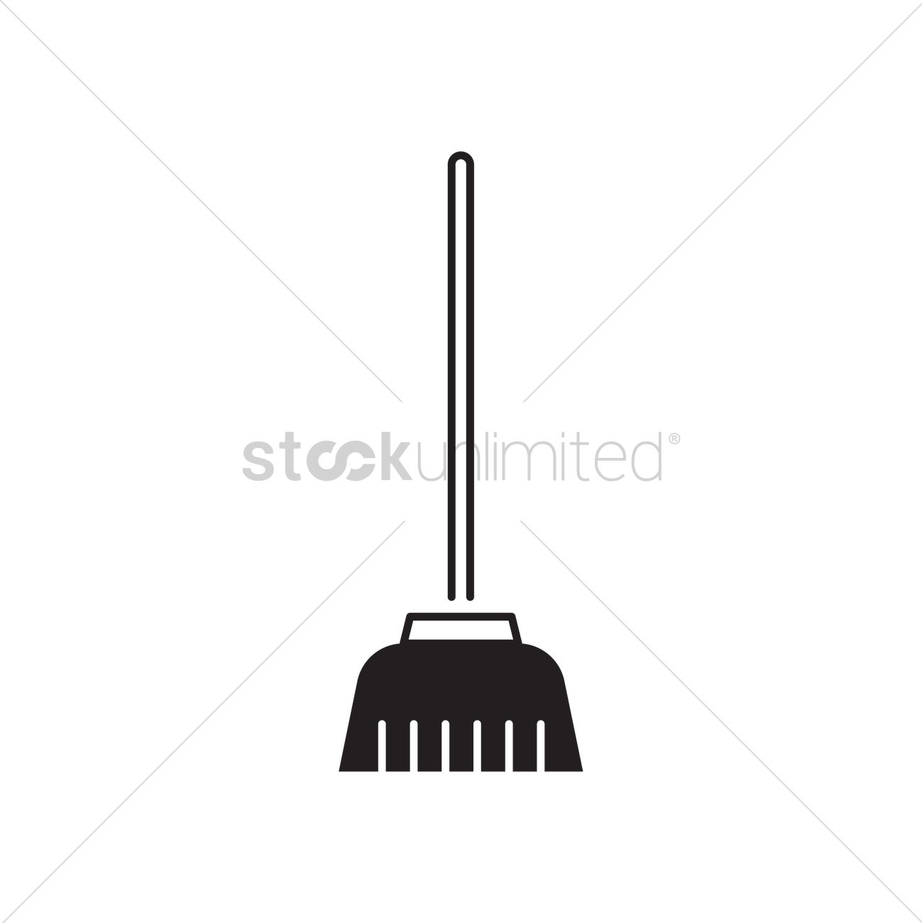 Broom Vector Image - 2004891 | StockUnlimited