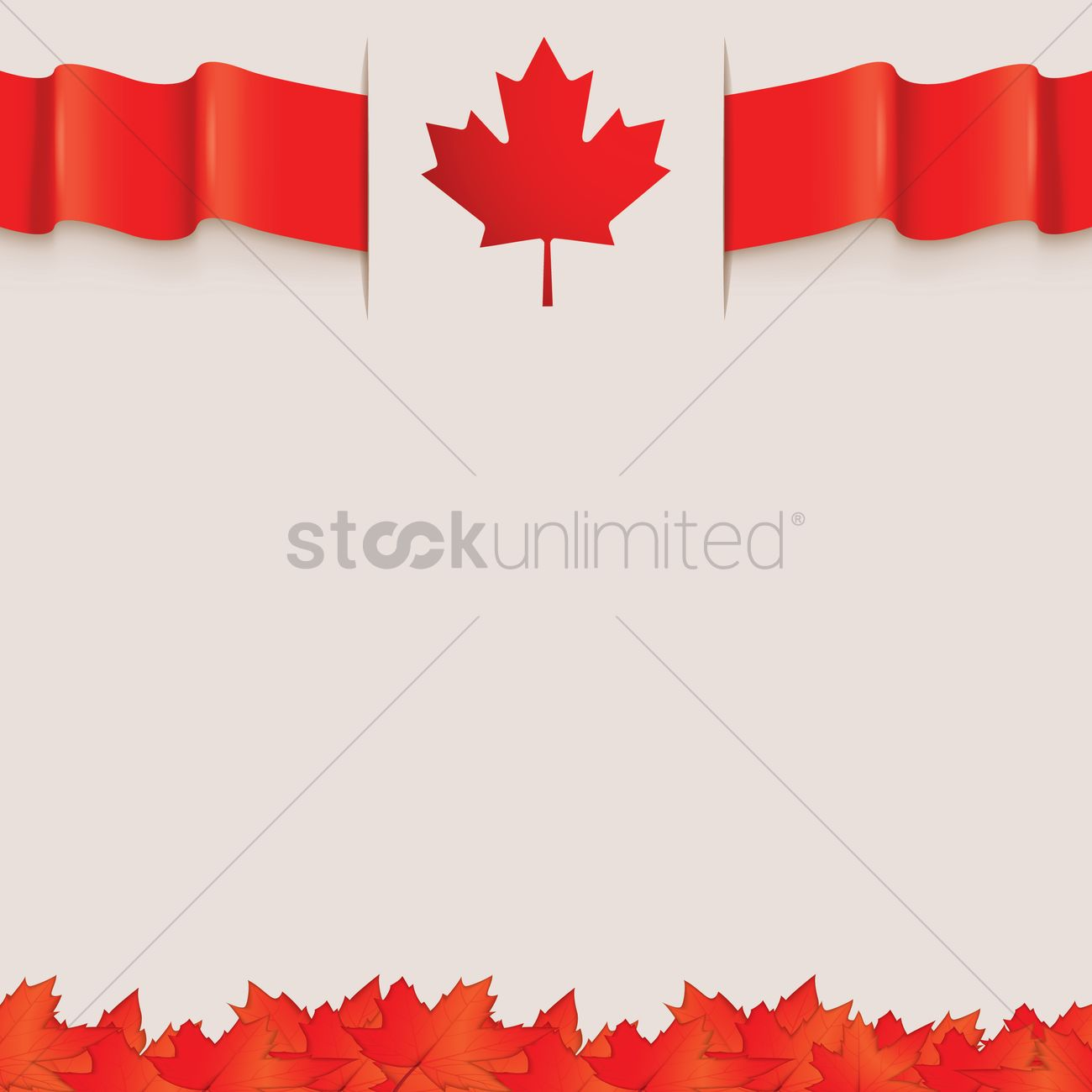 canada flag template design vector image 1974947 stockunlimited