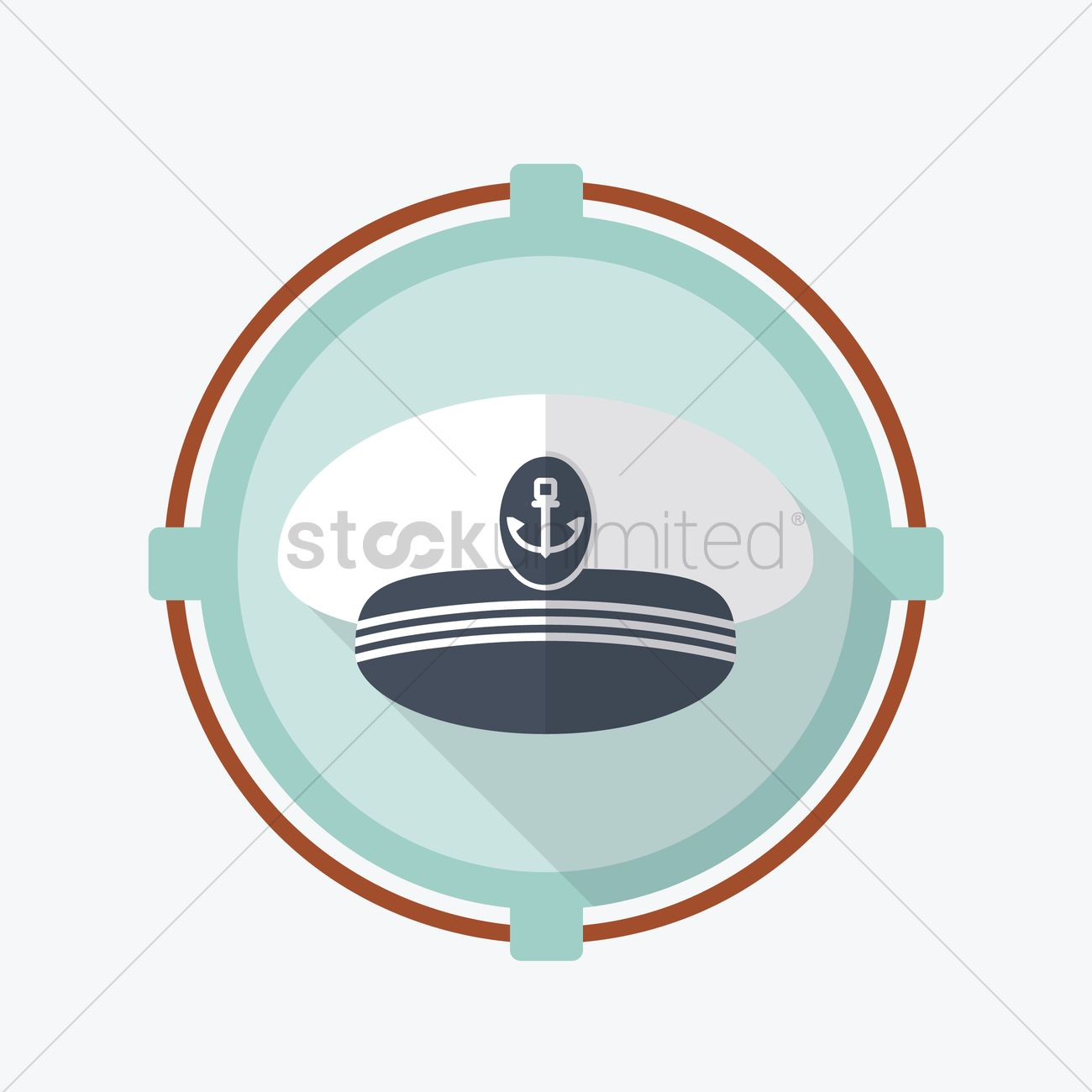 Captain hat Vector Image - 1404207 | StockUnlimited