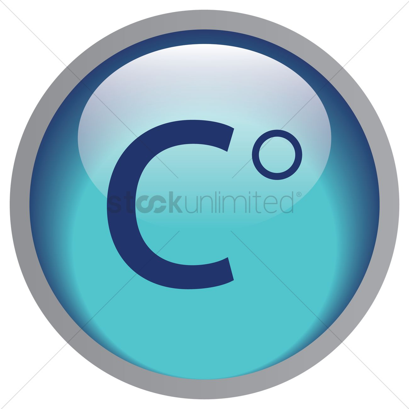 Celsius Symbol Vector Image 1325811 Stockunlimited