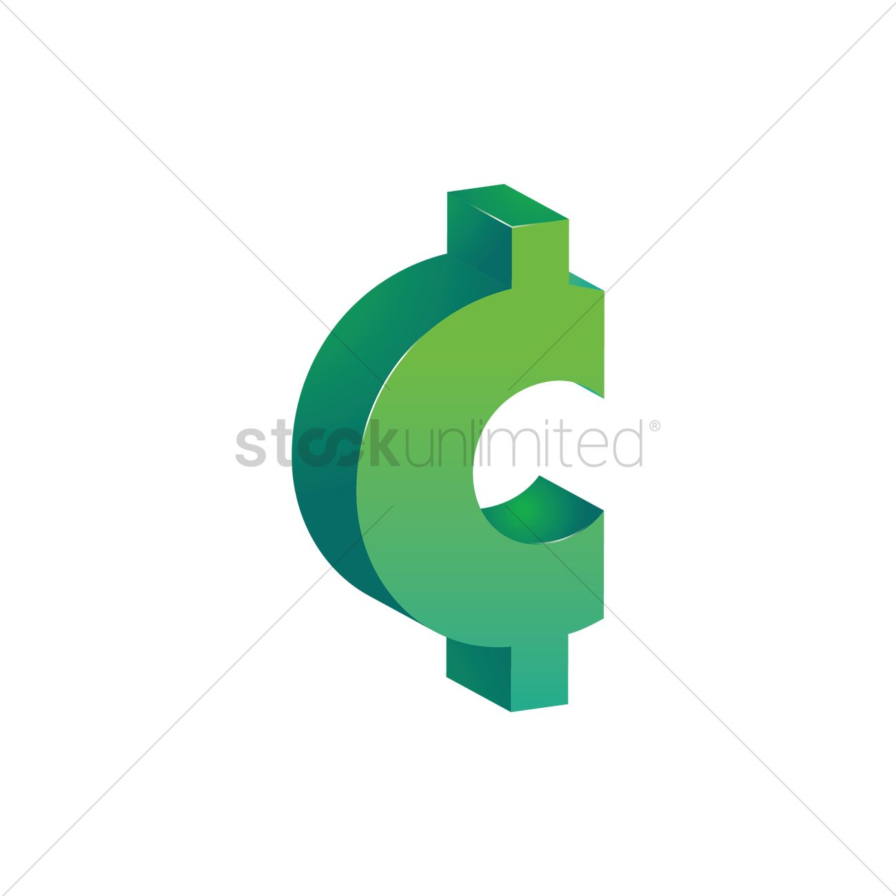 Cent Symbol Vector Image 1871139 Stockunlimited