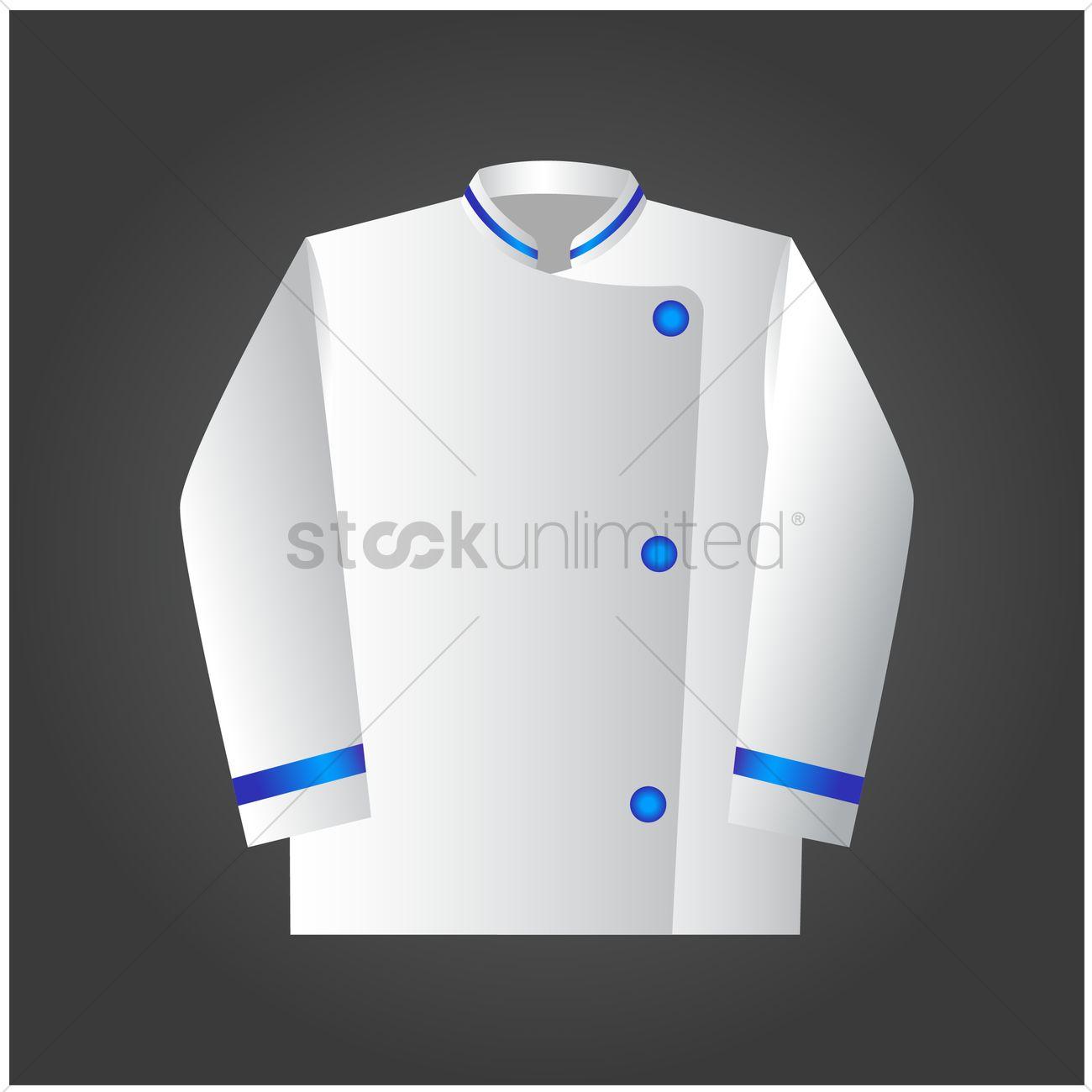 Chef Uniform Vector Graphic