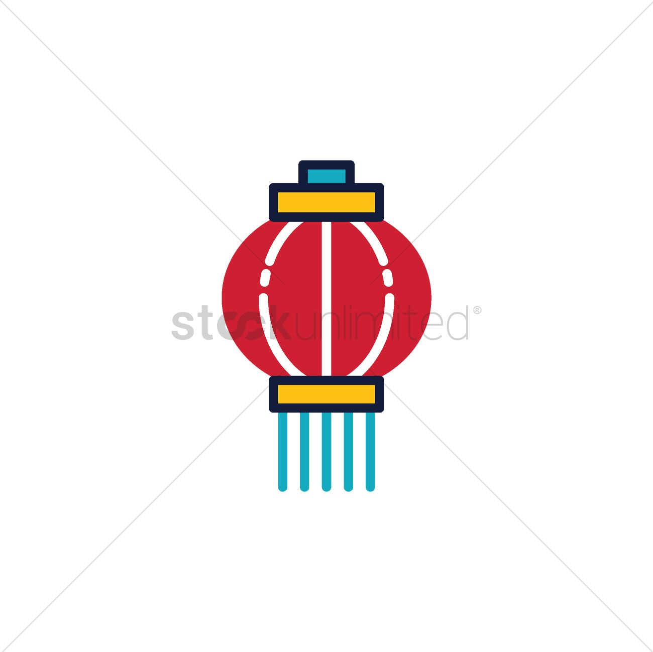 Chinese Lantern Vector Image 1966895 Stockunlimited