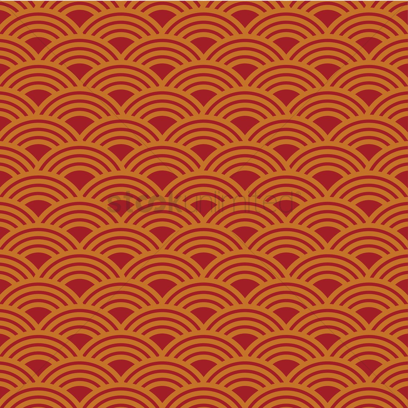 Chinese Pattern Background Vector Graphic