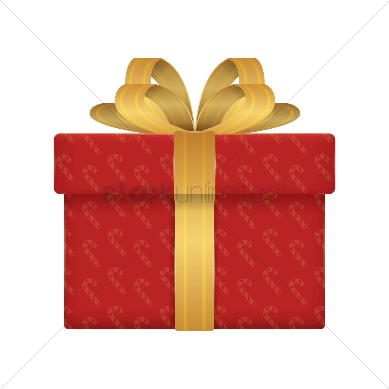 Christmas Gift Box Vector Image 1934703 Stockunlimited Rh Com Free Download