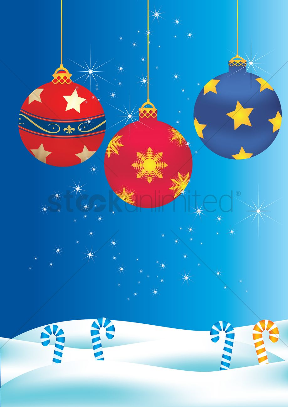 christmas themed background vector image - 1259327   stockunlimited