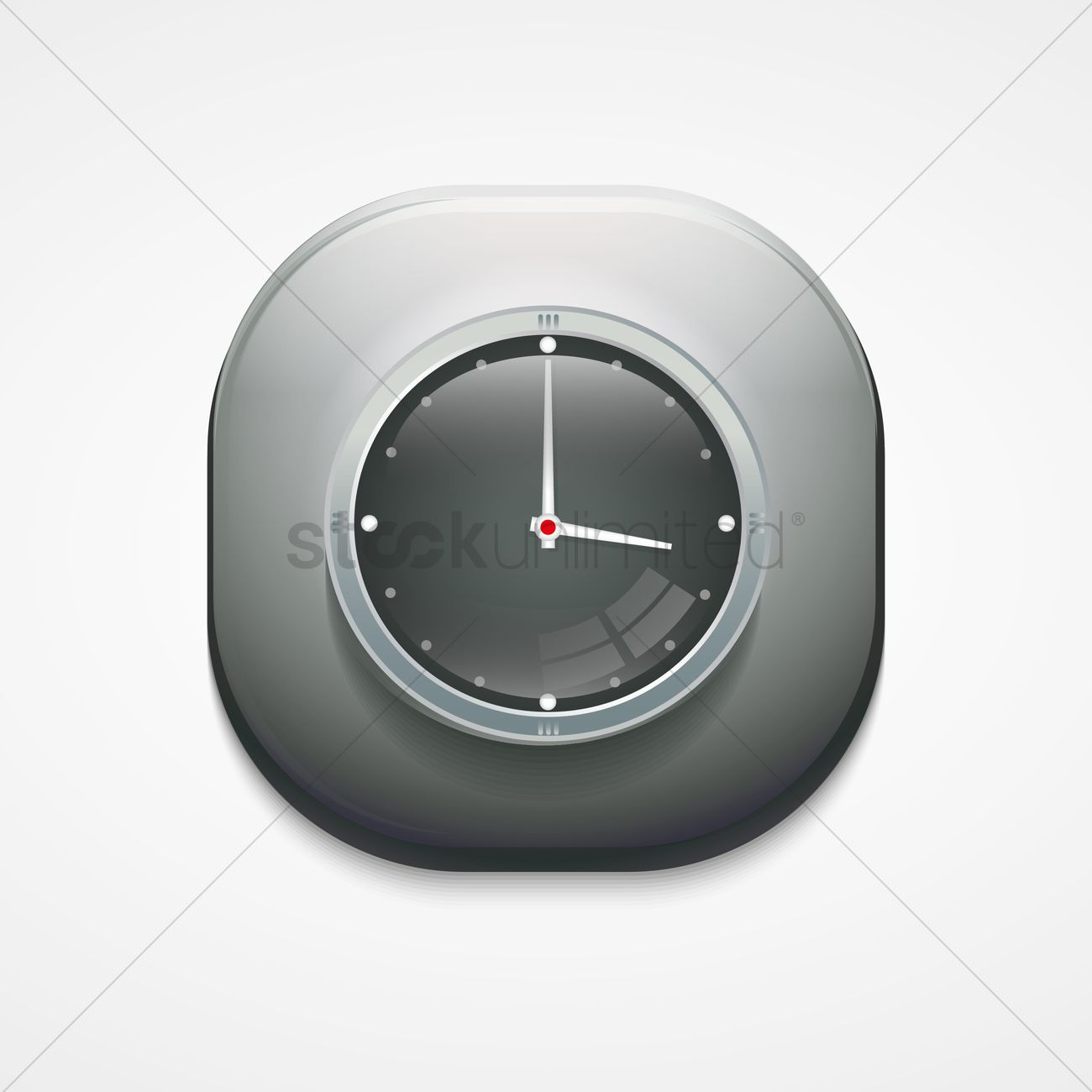 Free Clock icon Vector Image - 1604835 | StockUnlimited