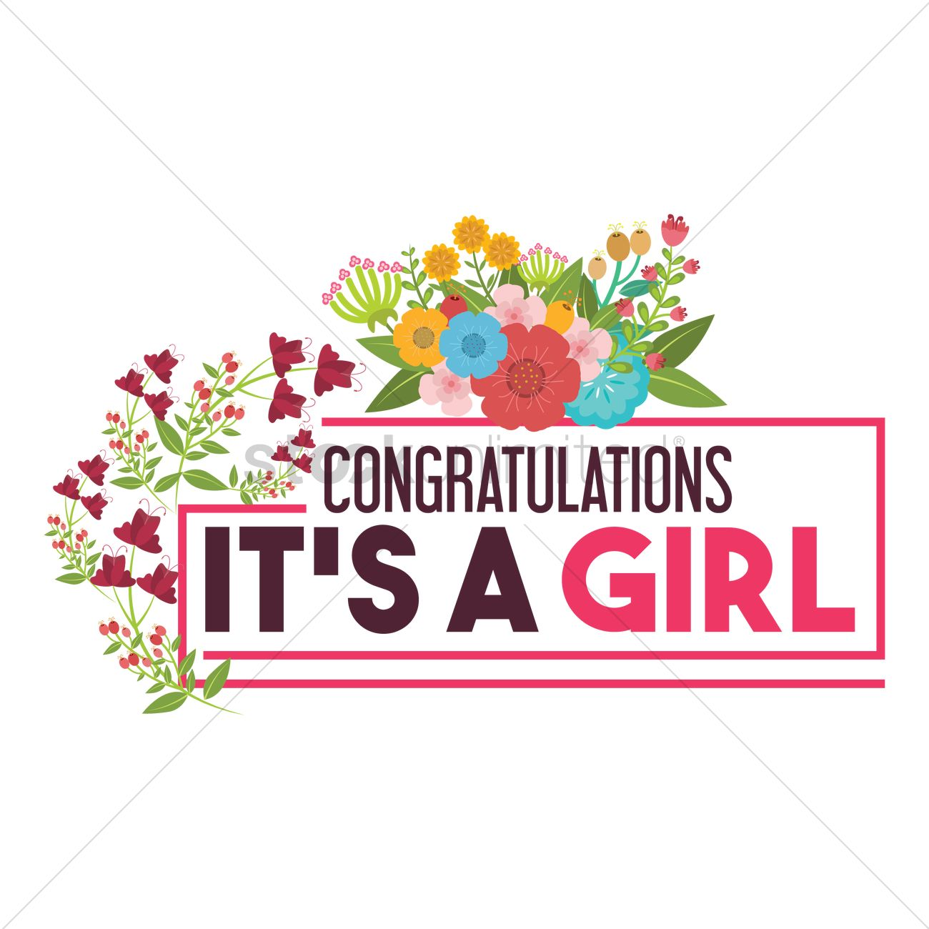 Image result for congratulations its a girl