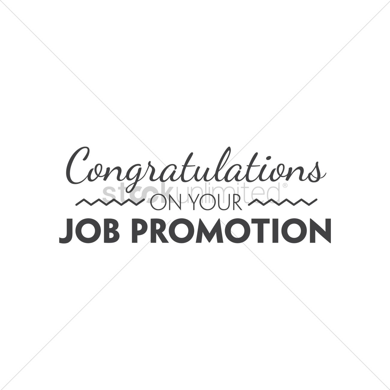 Free Congratulations On Your Job Promotion Stock Vectors