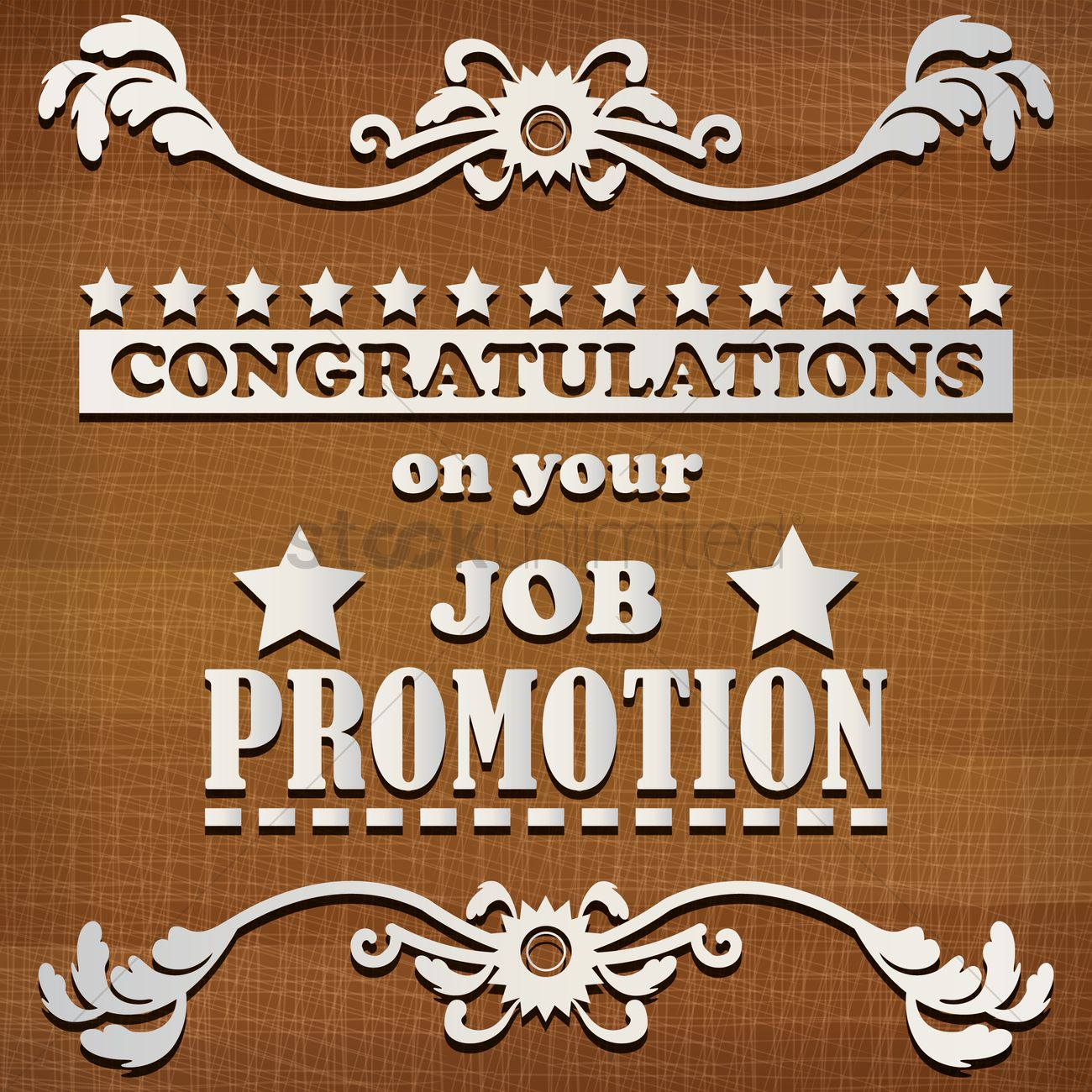 Congratulations on your job promotion vector image 1828447 congratulations on your job promotion vector graphic m4hsunfo