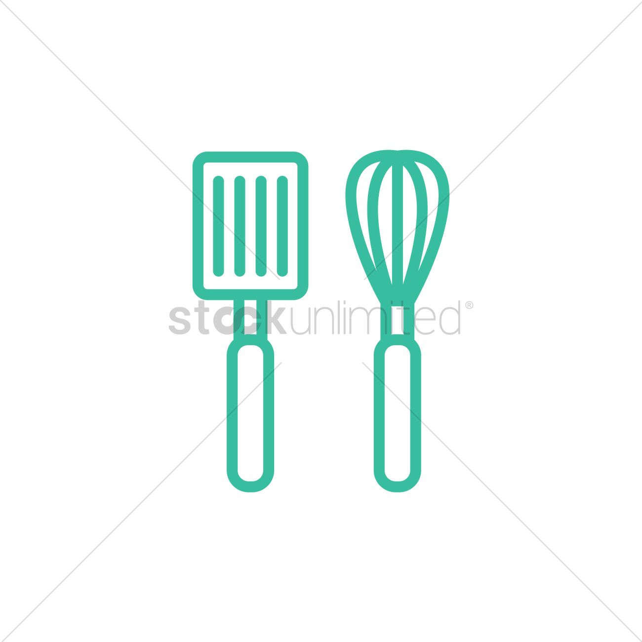 Cooking utensils Vector Image - 2023115 | StockUnlimited