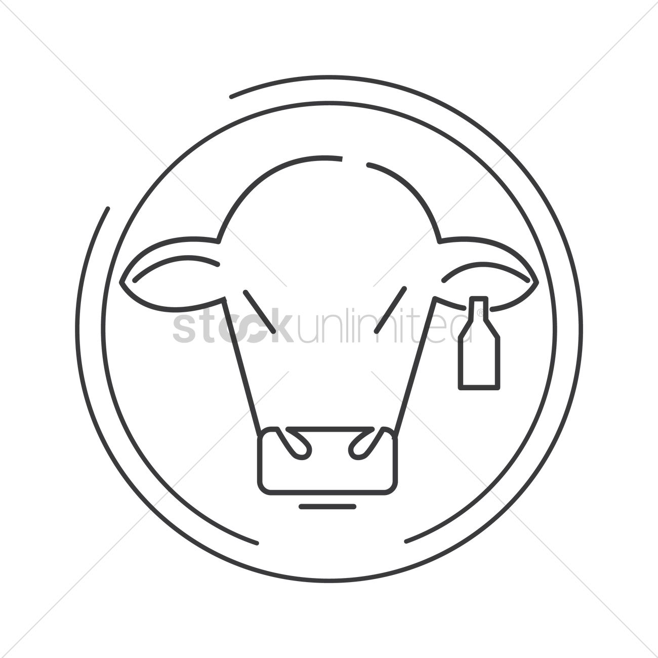 Cow Vector Image - 2034563 | StockUnlimited