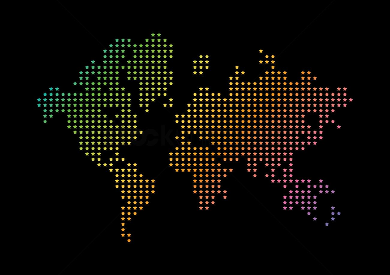 Creative world map design vector image 1983139 stockunlimited creative world map design vector graphic gumiabroncs
