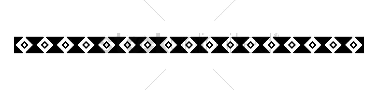 Diamond Border Design Vector Image 1988051 Stockunlimited