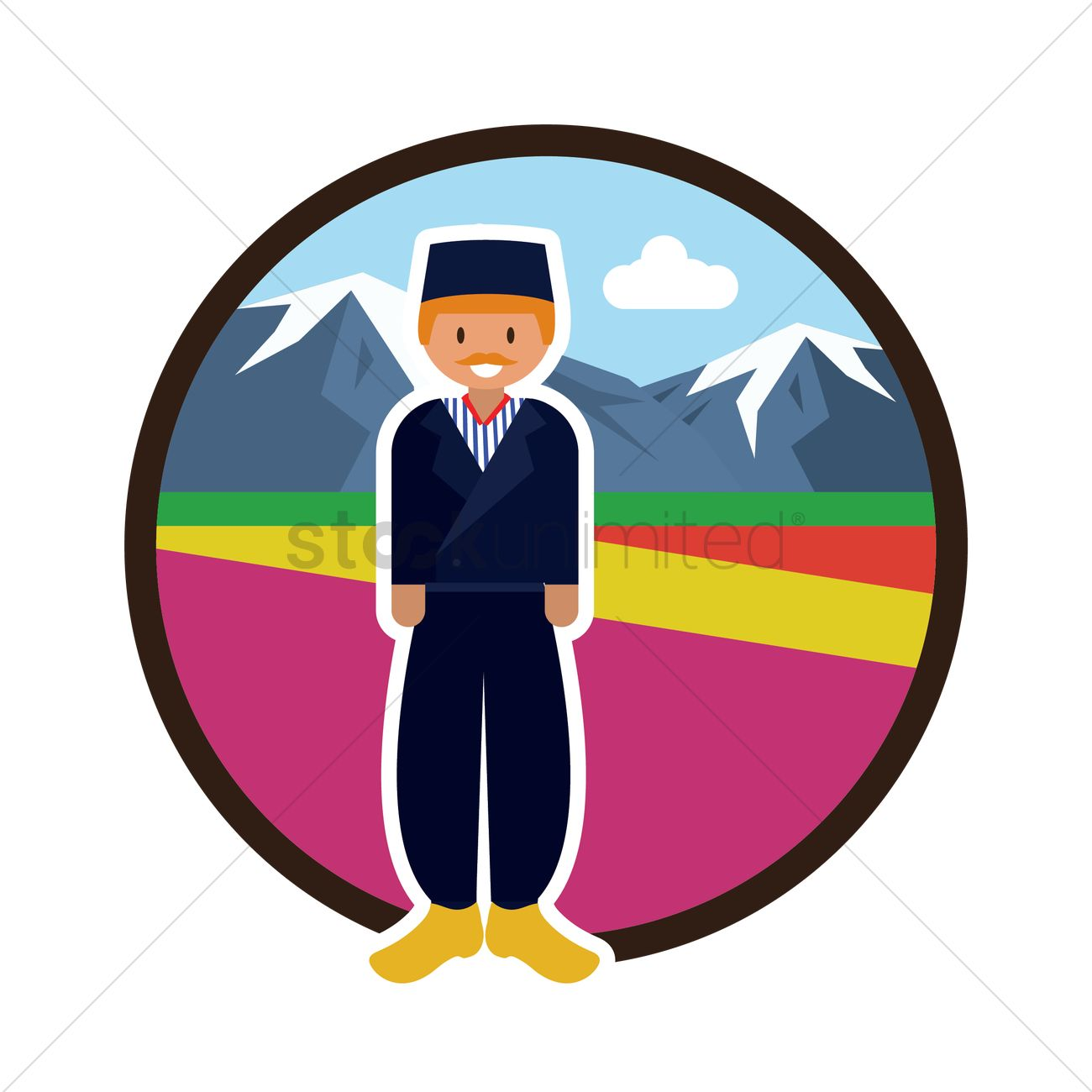Dutch man Vector Image - 2015575 | StockUnlimited