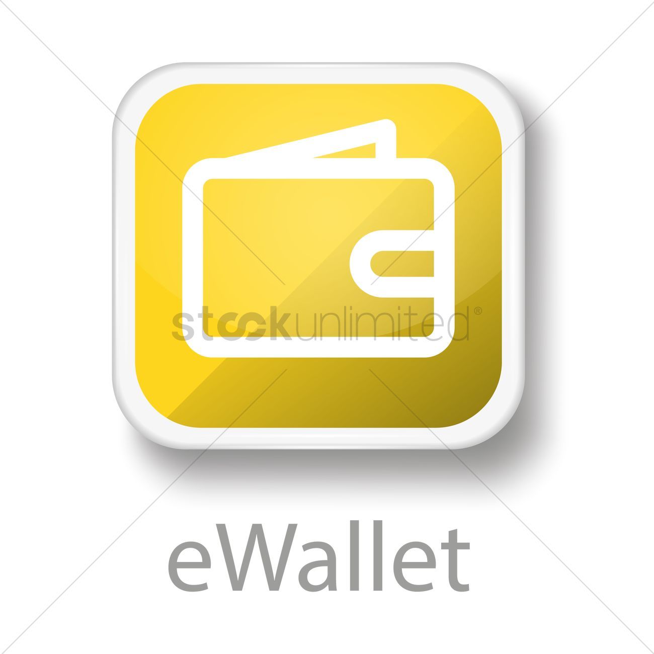E-wallet icon Vector Image - 1797895 | StockUnlimited