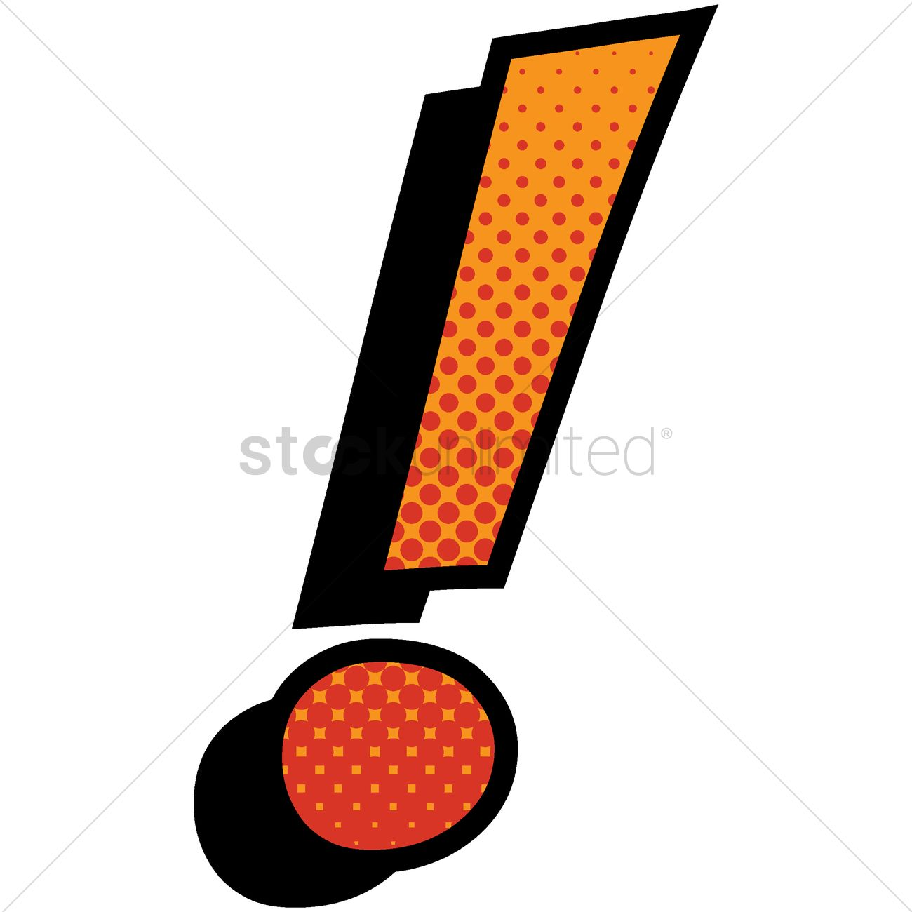 exclamation point vector image 1631951 stockunlimited rh stockunlimited com clipart point exclamation red exclamation point clipart