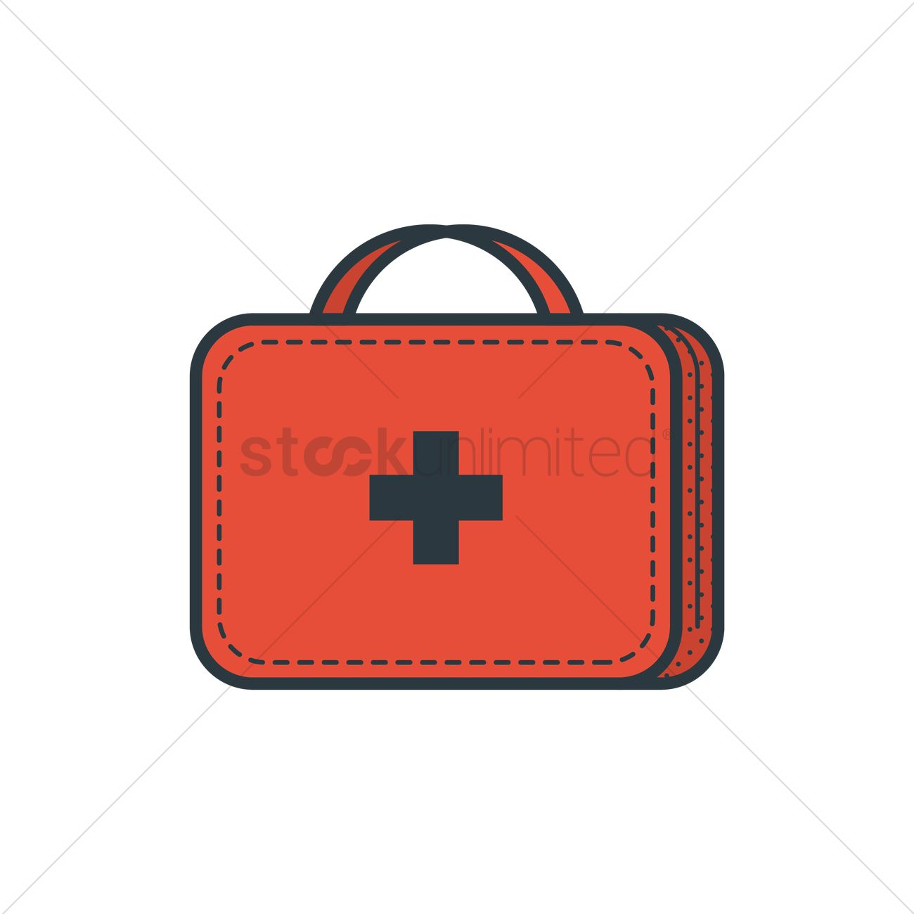 First aid kit Vector Image - 1863615 | StockUnlimited