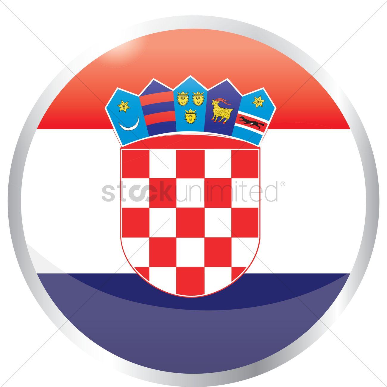 Flag Of Croatia Vector Image 1420711 Stockunlimited