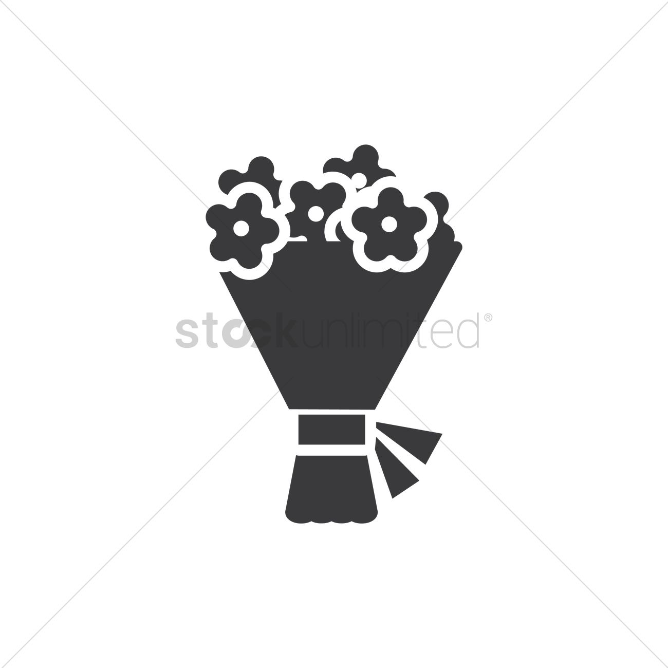 Flower Bouquet Vector Image 1973423 Stockunlimited