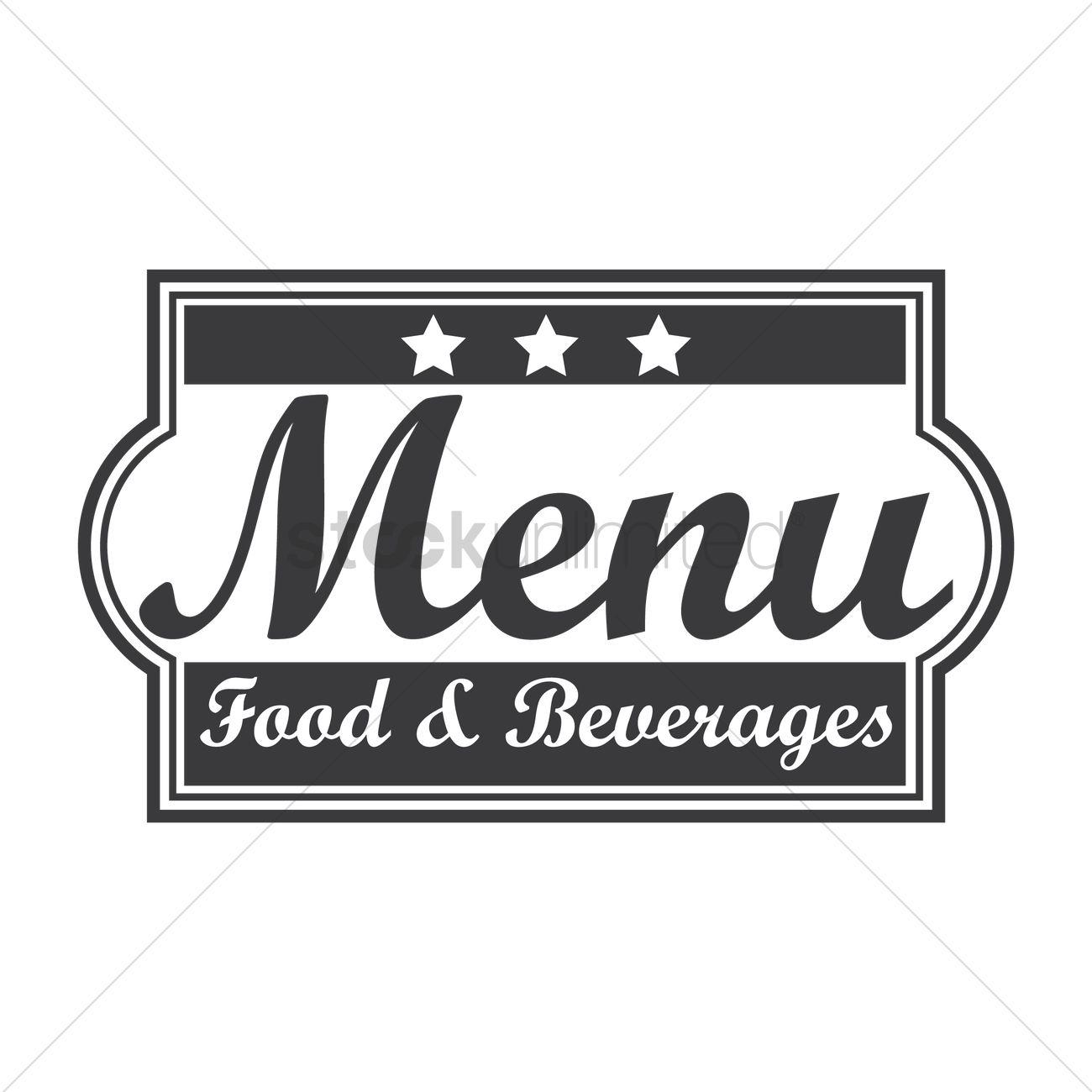Food and beverage logo design