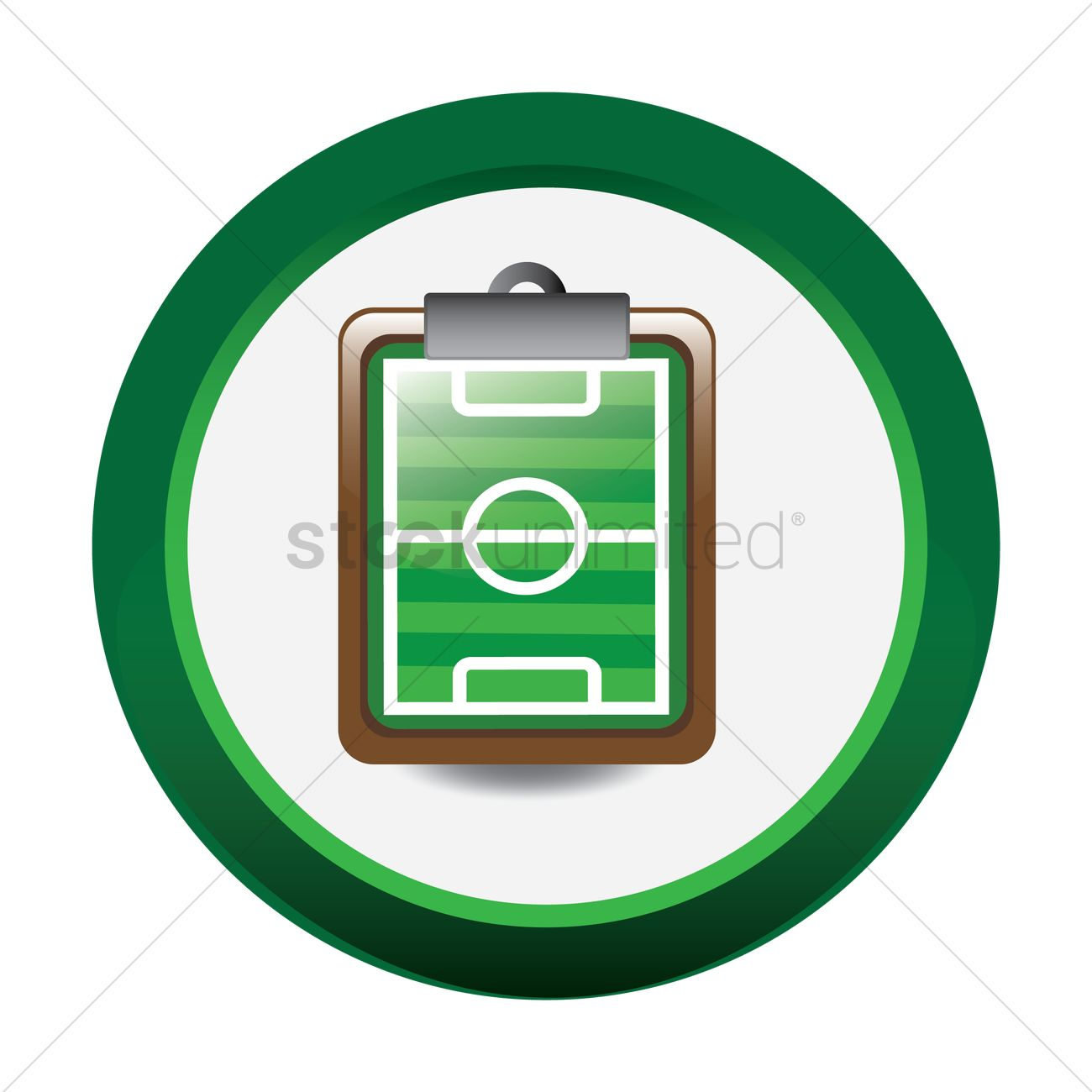 football field picture on clipboard vector image 1481491 rh stockunlimited com vector football field free football field vector art free