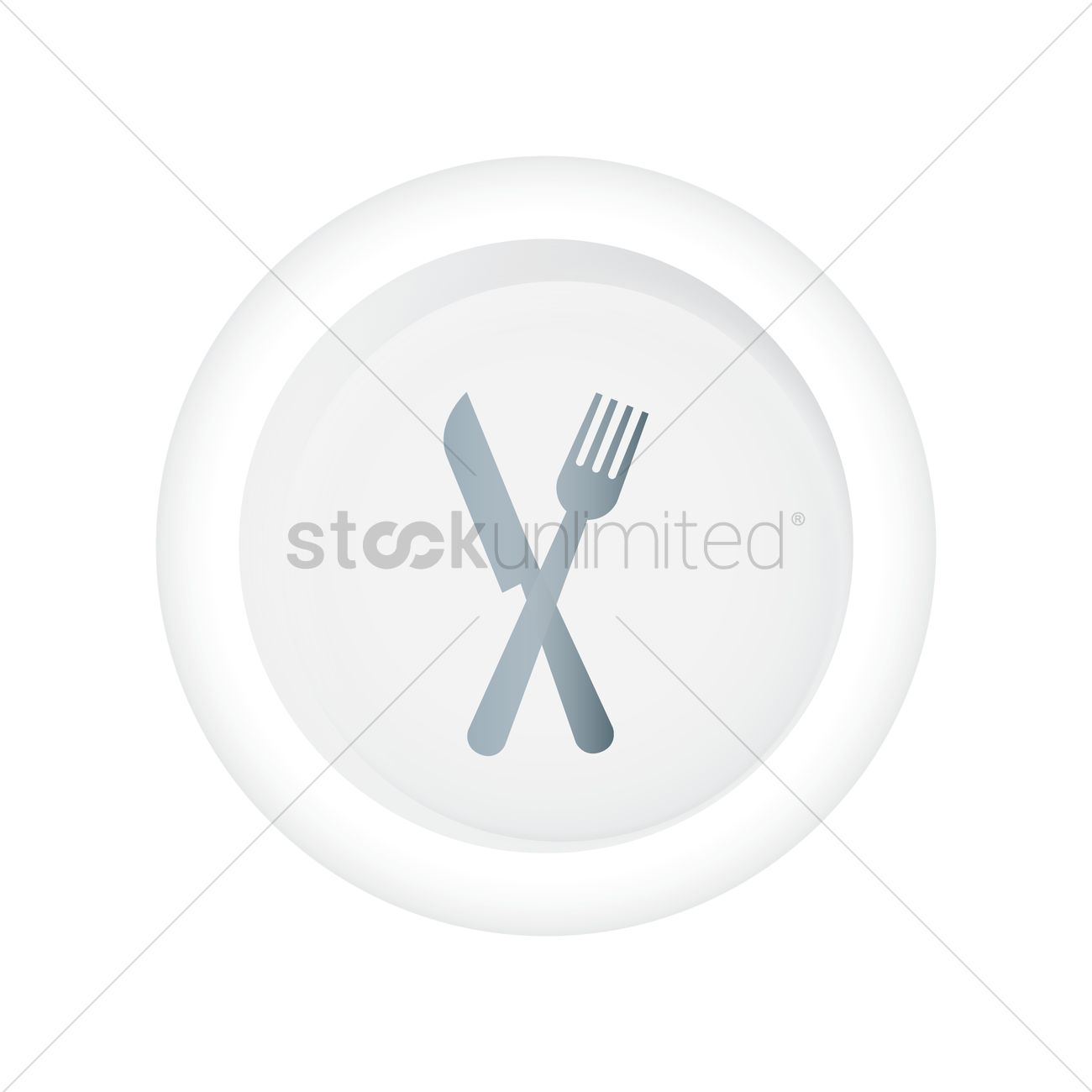 fork and knife icon vector image 1814735 stockunlimited