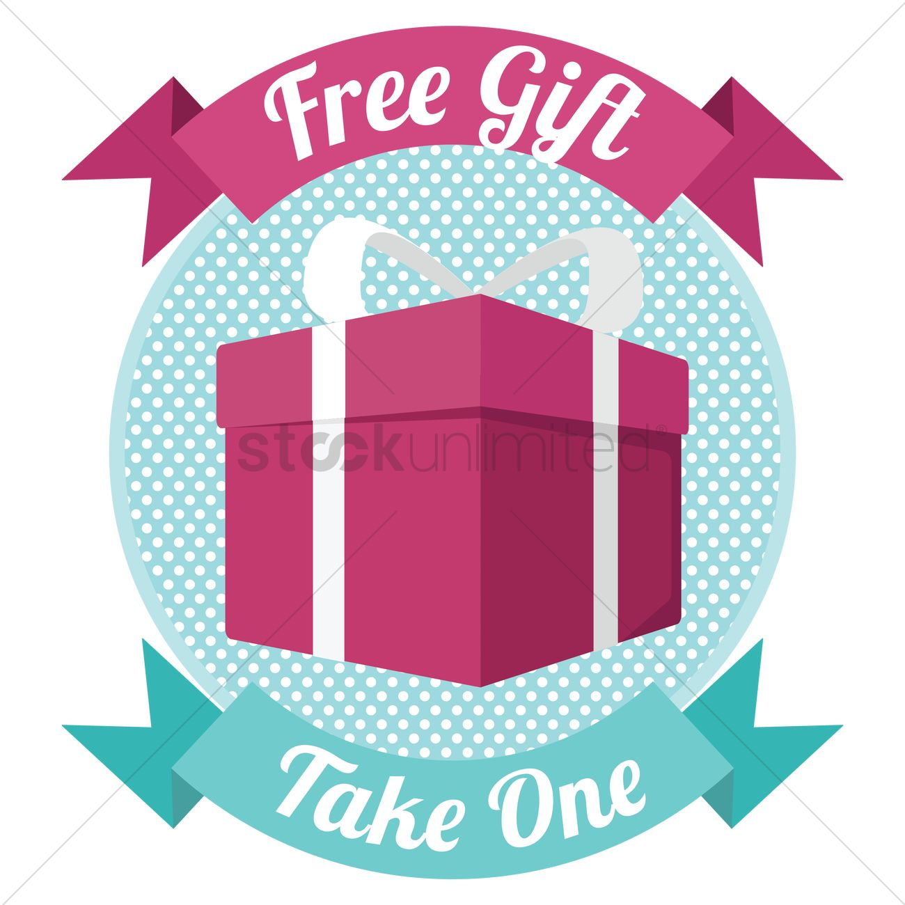 free gift banner vector image 1507983 stockunlimited rh stockunlimited com free graphic images download free graphic images no copyright