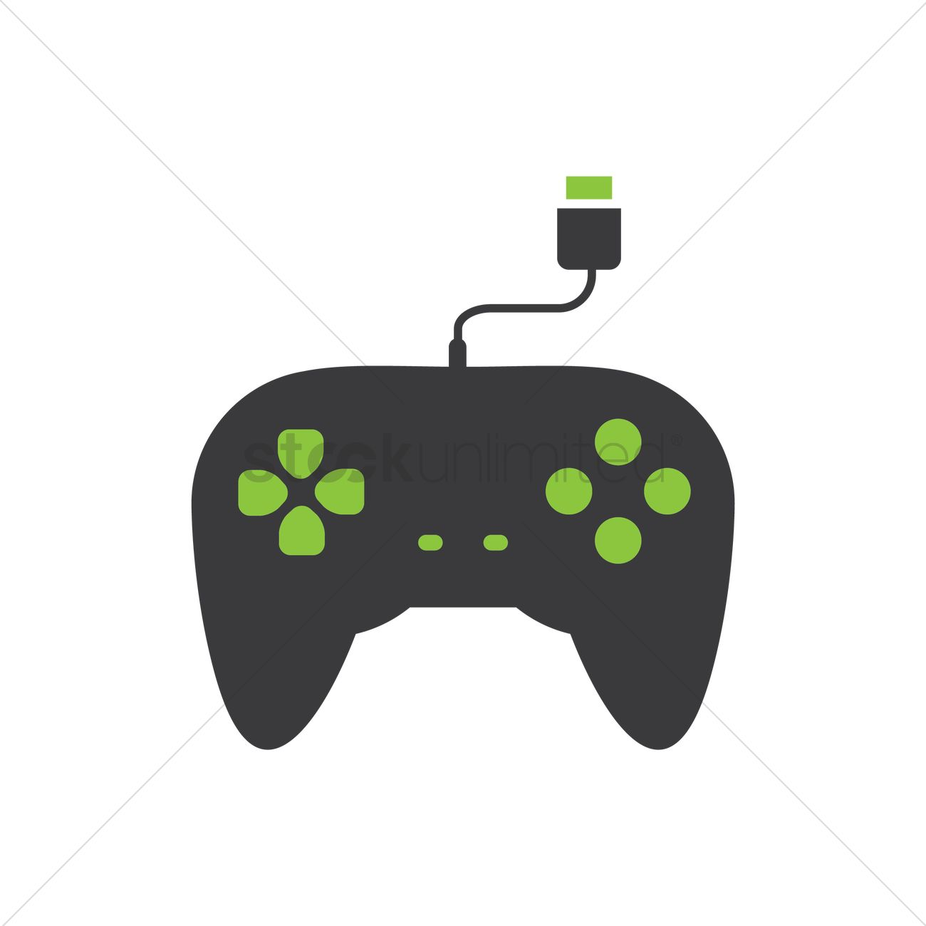 Game controller Vector Image - 1490567 | StockUnlimited