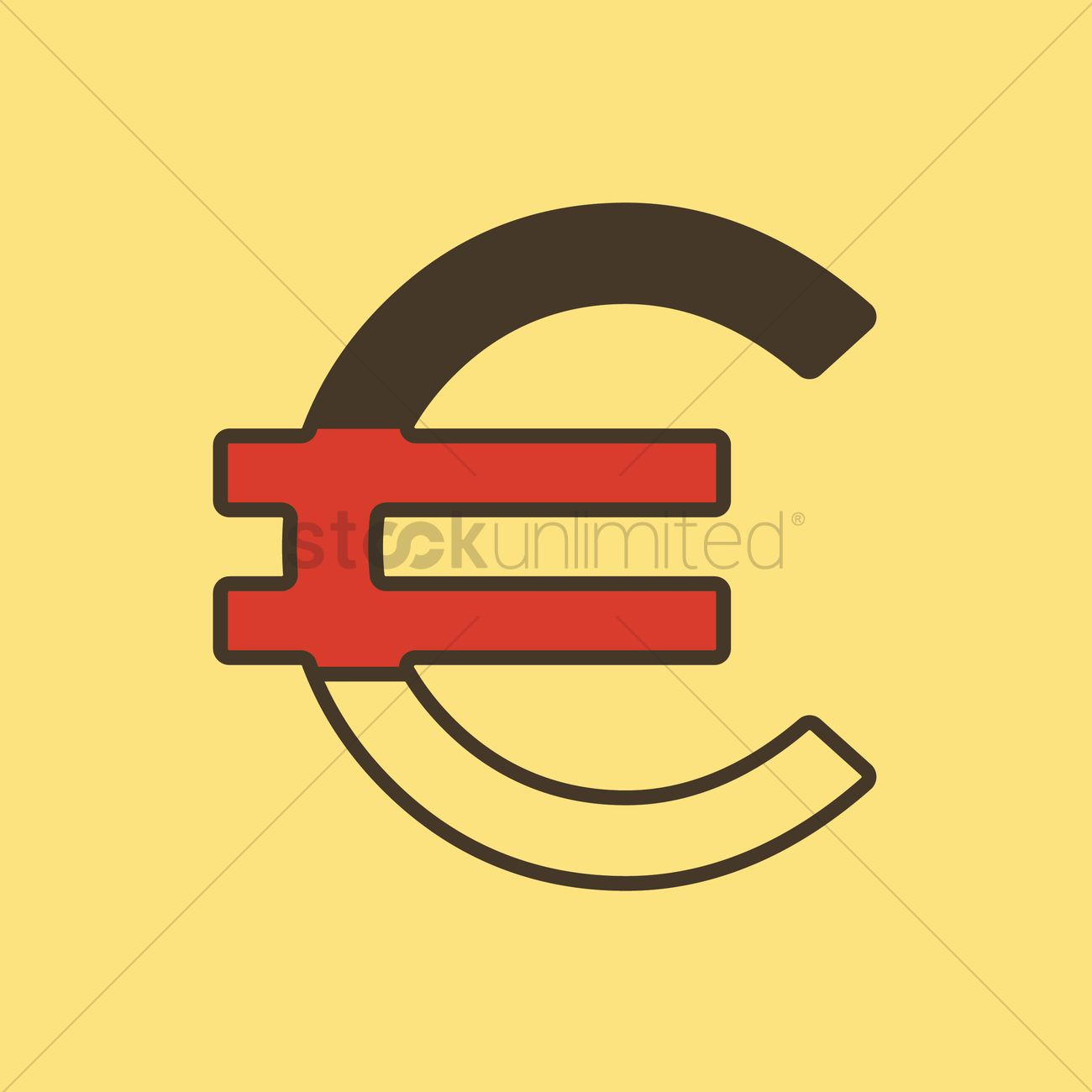 Germany Euro Currency Vector Image 1956955 Stockunlimited