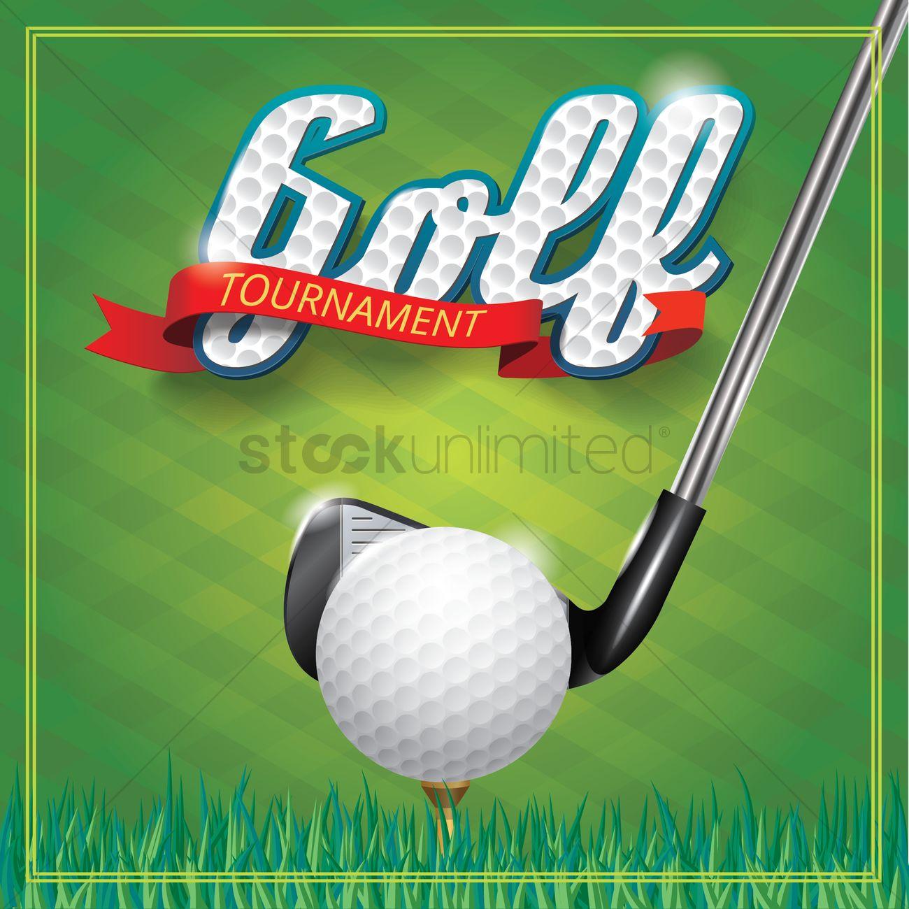 Golf tournament invitation vector image 1497627 stockunlimited golf tournament invitation vector graphic stopboris Choice Image