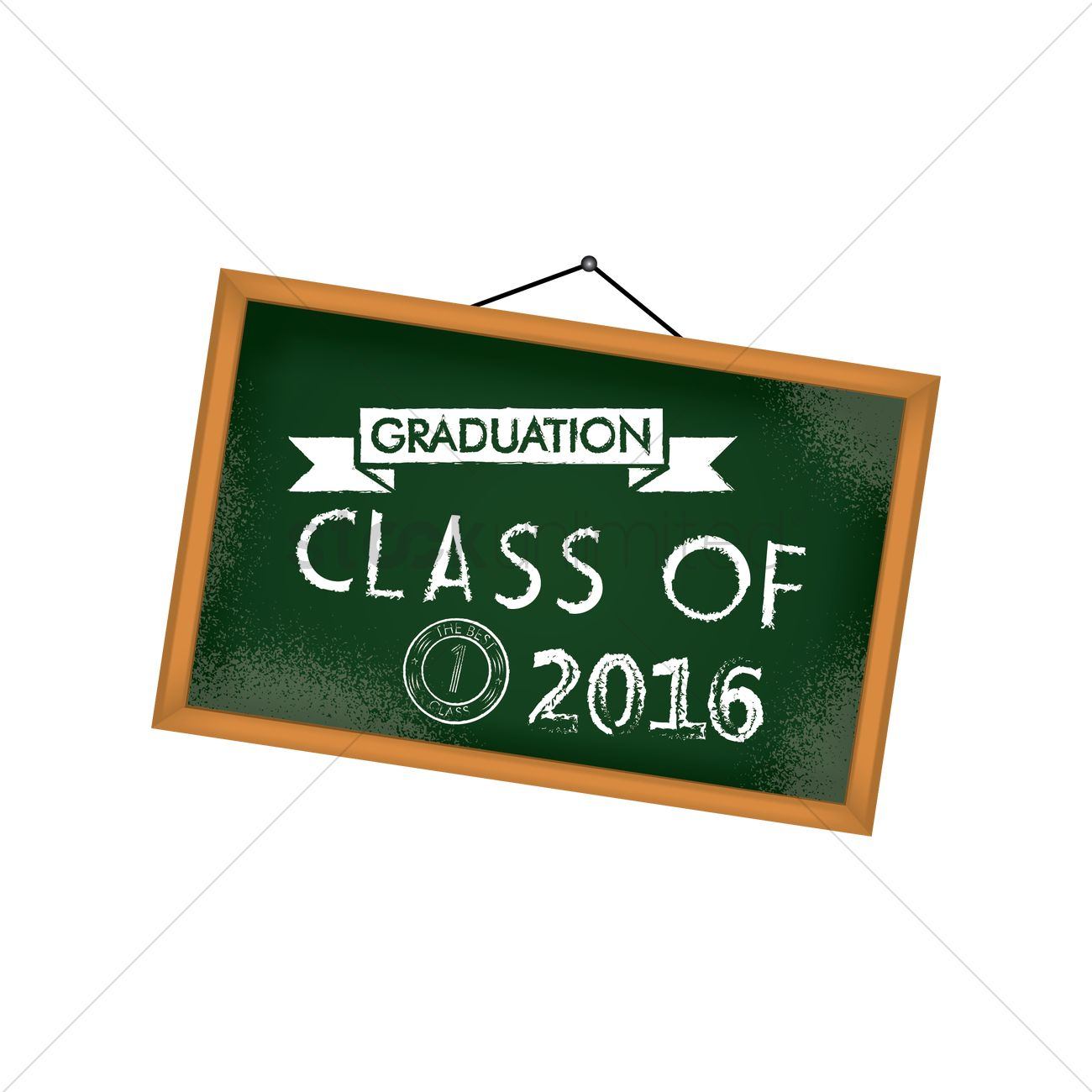graduation chalkboard design vector image 1814879 stockunlimited
