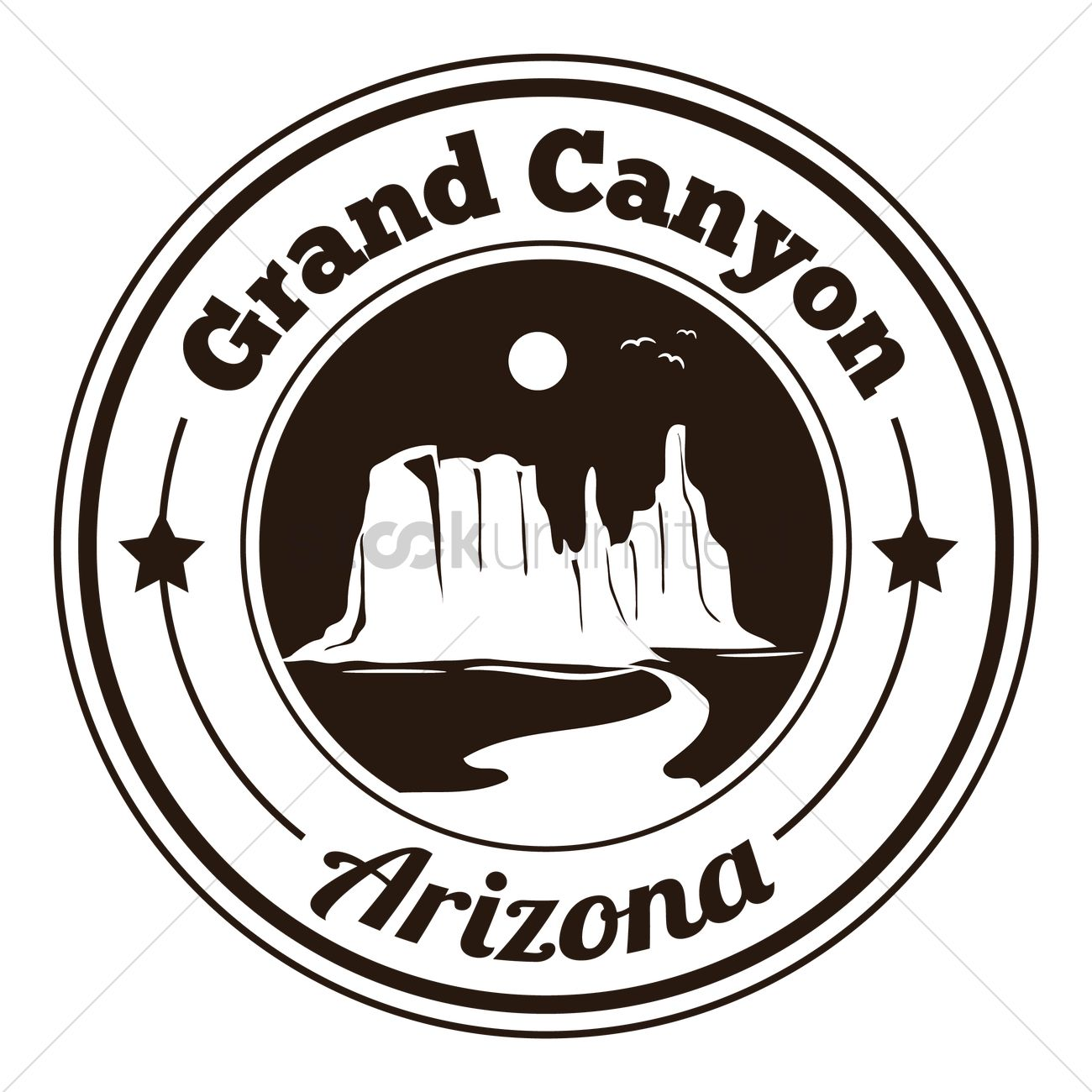grand canyon label vector image 1568223 stockunlimited rh stockunlimited com
