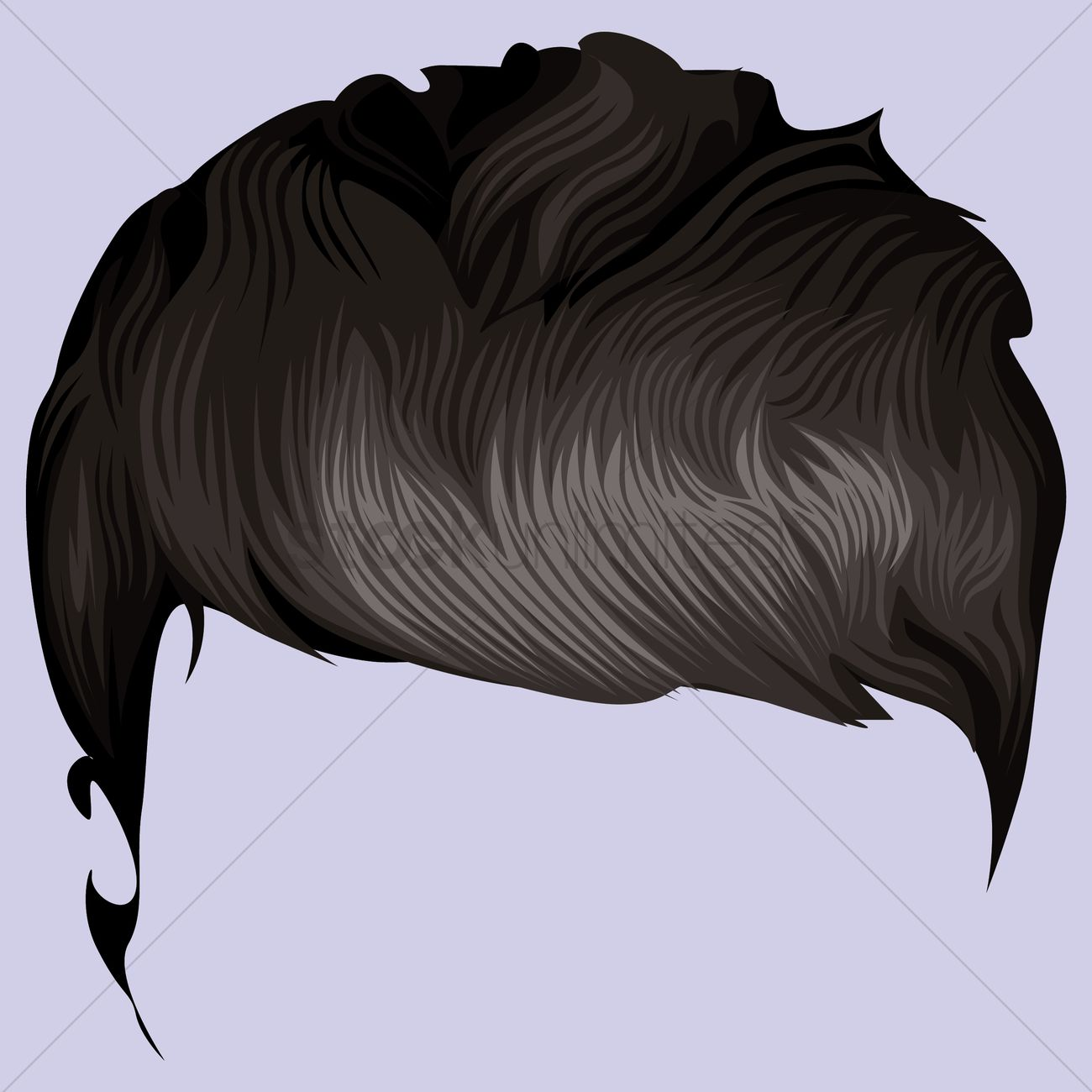 Hair style Vector Image - 1459723 | StockUnlimited Men Hair Clipart