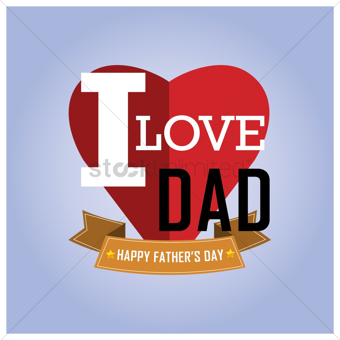 Happy Fathers Day Wallpaper Vector Image 1585479