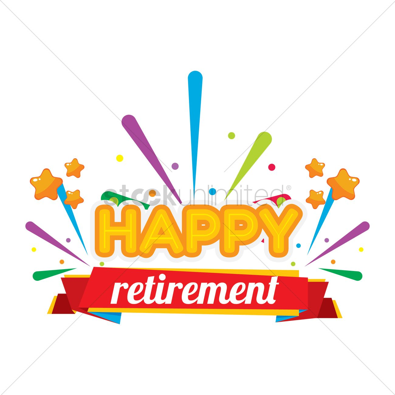 happy retirement label vector image 1707699 stockunlimited retirement clipart banner retirement clipart female