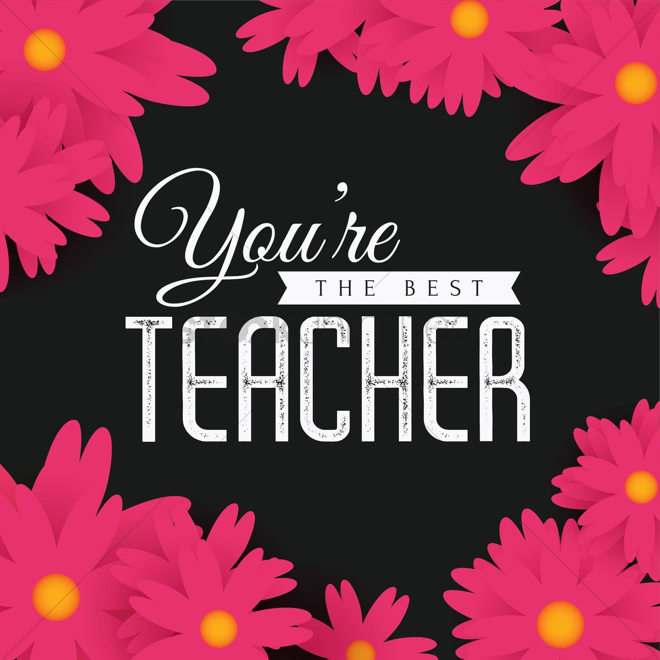 Happy teachers day design vector image 2007051 stockunlimited happy teachers day design vector graphic kristyandbryce Choice Image