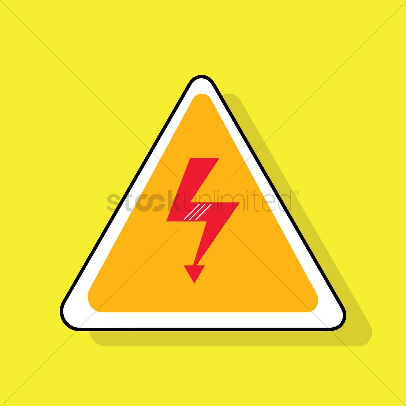High voltage symbol vector image 1355191 stockunlimited high voltage symbol vector graphic buycottarizona