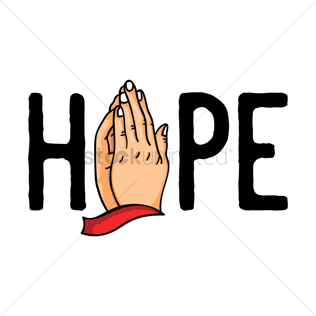 hope with hand praying vector image 1959031 stockunlimited rh stockunlimited com home clip art images free home clip art images free