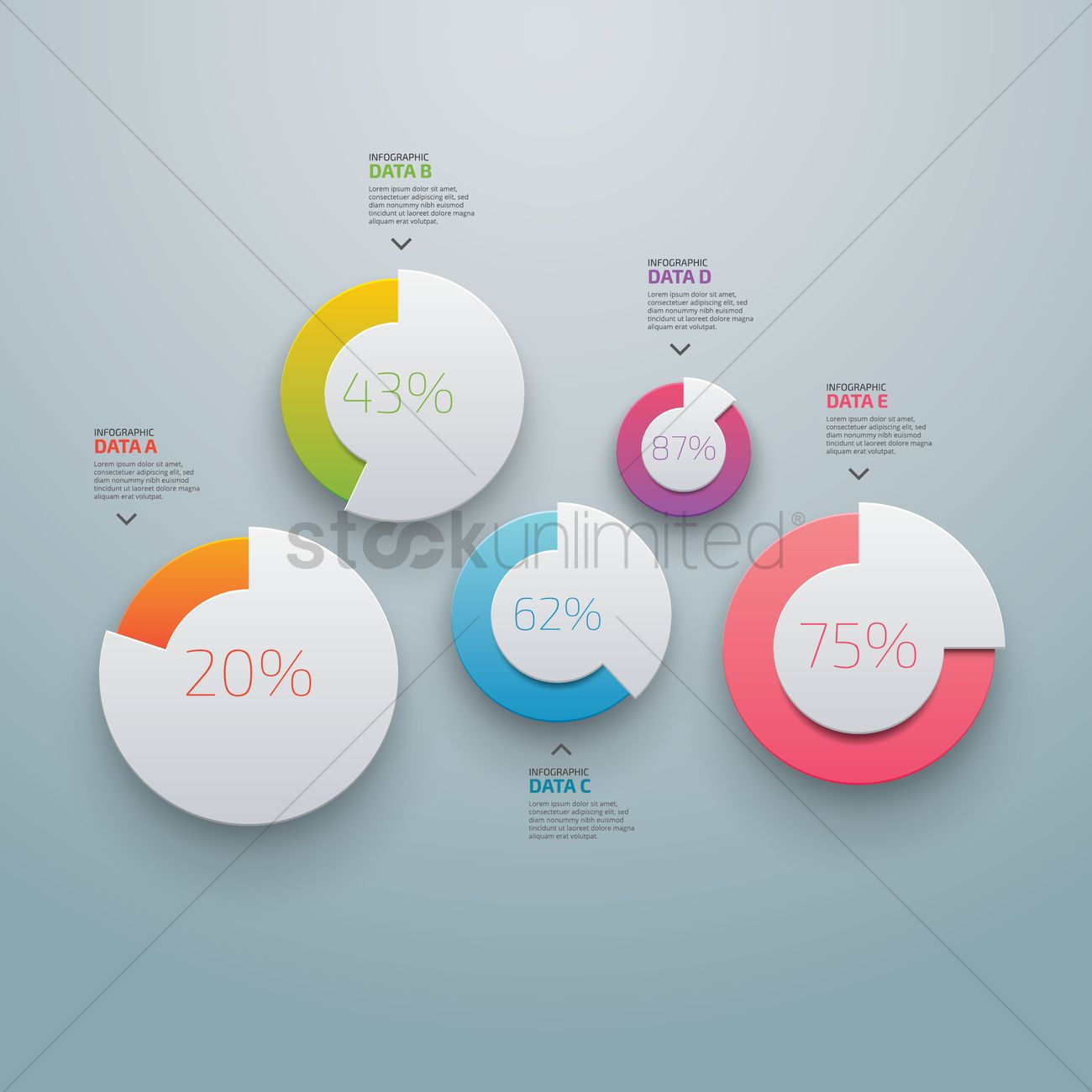 infographic design elements vector image - 1613131 | stockunlimited