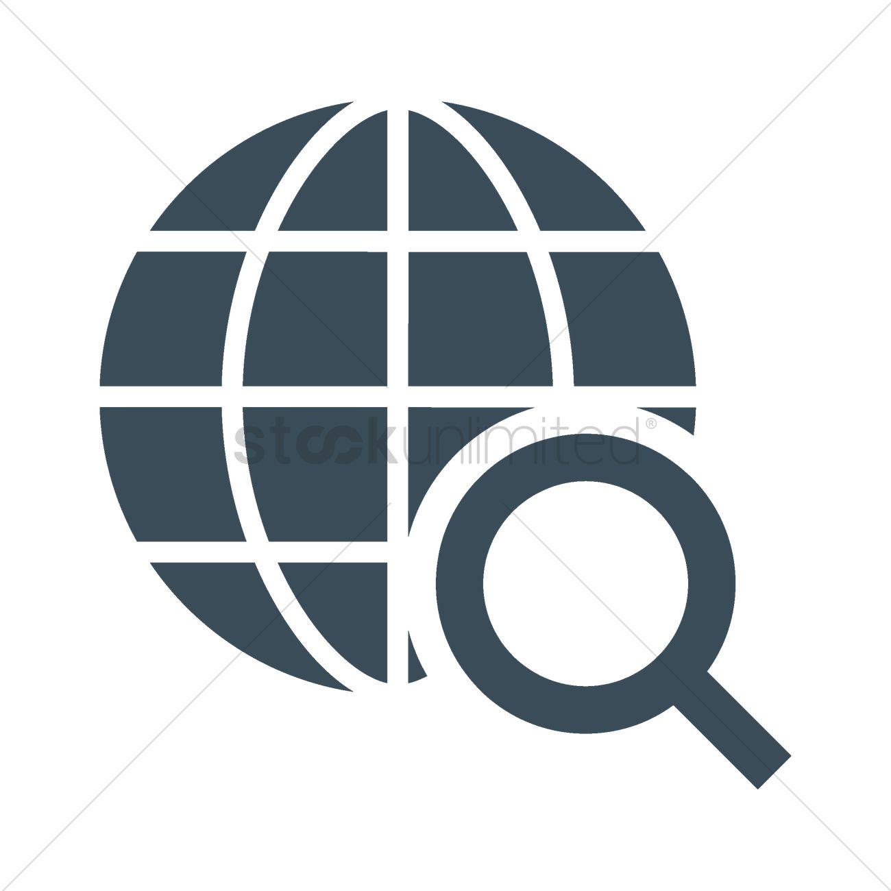 Internet search icon vector image 2005203 stockunlimited internet search icon vector graphic biocorpaavc
