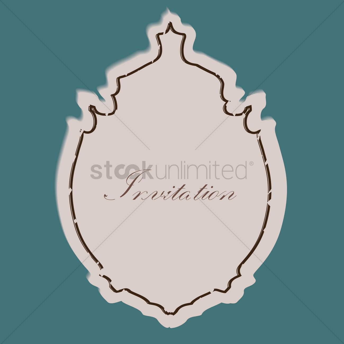 Invitation label vector image 1443075 stockunlimited invitation label vector graphic stopboris Images