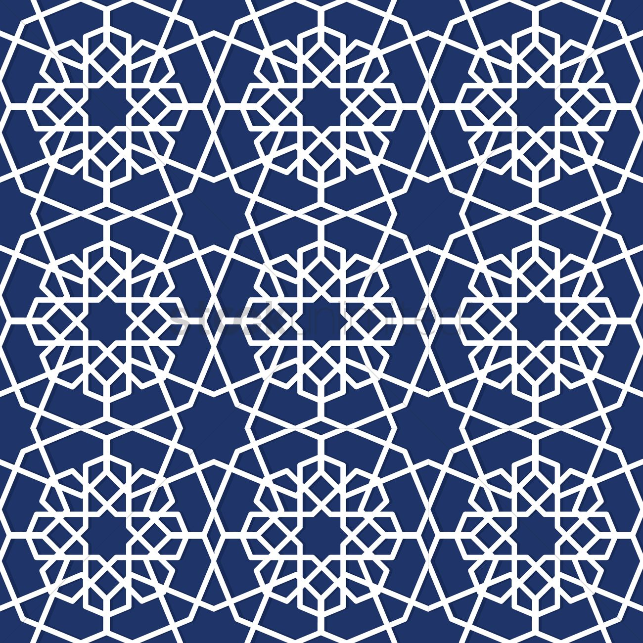 Islamic geometric pattern design vector image 1979679 Geometric patterns