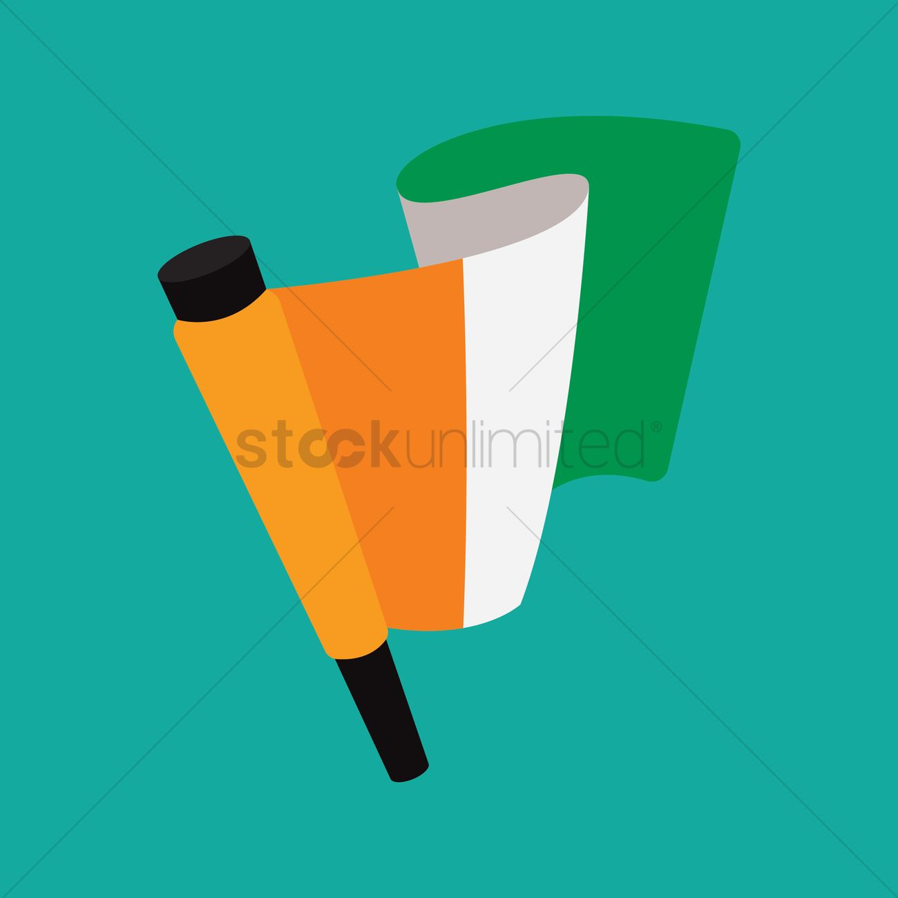 ivory coast flag vector graphic