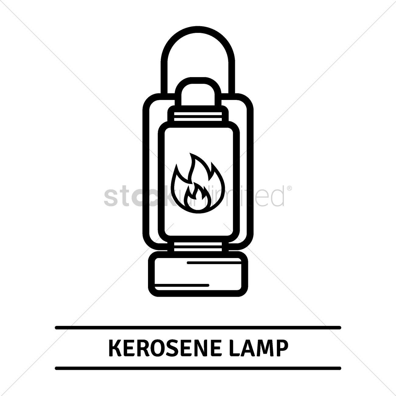 Kerosene lamp Vector Image - 1788959 | StockUnlimited for Kerosene Lamp Clipart  110zmd