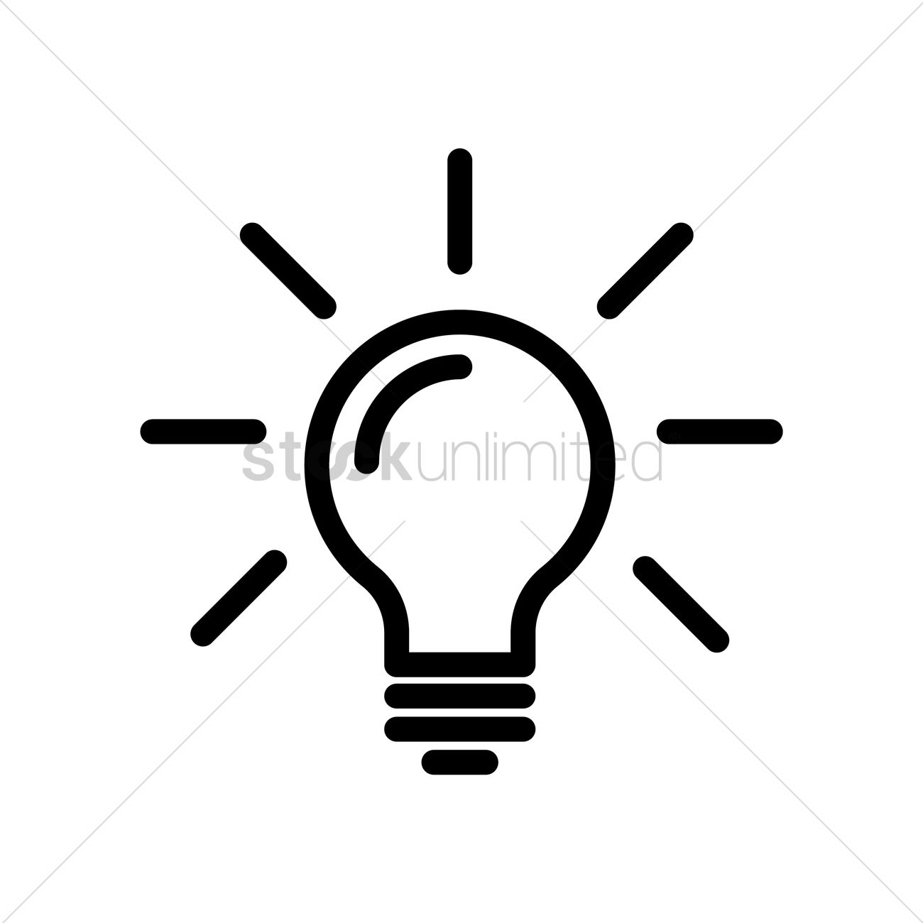Light bulb concept Vector Image - 1951299 | StockUnlimited