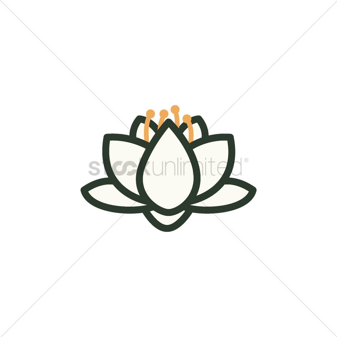 Lotus flower vector image 1967671 stockunlimited lotus flower vector graphic izmirmasajfo