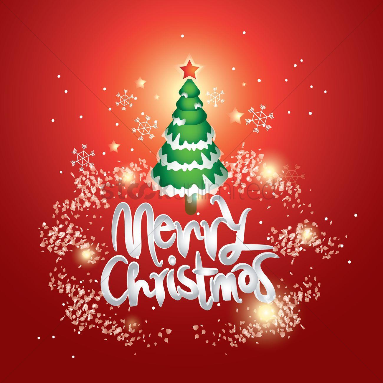 Merry Christmas Wallpaper.Merry Christmas Wallpaper Vector Image 1815435