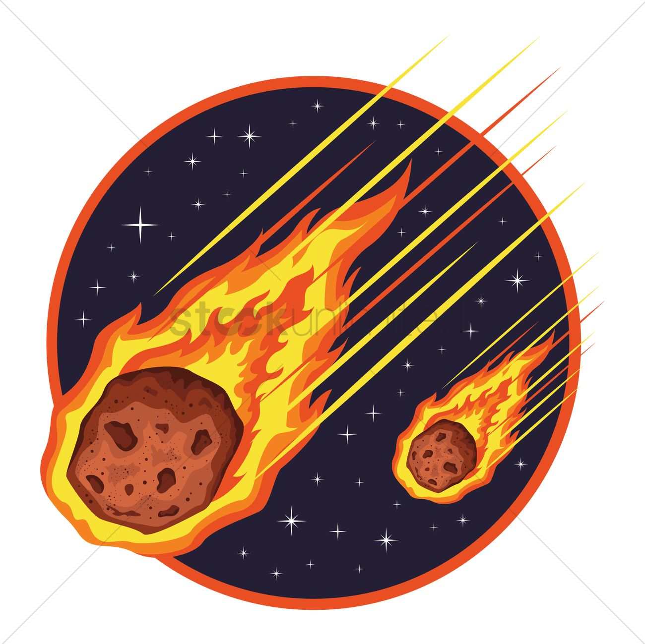 Meteor Vector | www.pixshark.com - Images Galleries With A ...