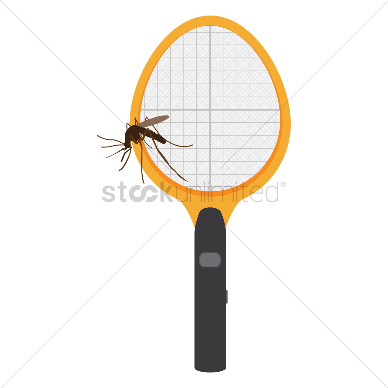 Free Mosquito Killing Bat Vector Image 1288483 Stockunlimited